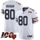 Cheap Nike Bears #80 Jimmy Graham White Alternate Youth Stitched NFL Vapor Untouchable Limited 100th Season Jersey