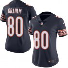 Cheap Nike Bears #80 Jimmy Graham Navy Blue Team Color Women's Stitched NFL Vapor Untouchable Limited Jersey