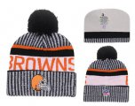 Cheap NFL Cleverland Browns Logo Stitched Knit Beanies 010