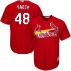 Cheap Cardinals #48 Harrison Bader Red Cool Base Stitched Youth MLB Jersey