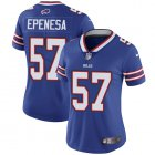Cheap Nike Bills #57 A.J. Epenesas Royal Blue Team Color Women's Stitched NFL Vapor Untouchable Limited Jersey