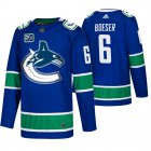 Cheap Men's Vancouver Canucks #6 Brock Boeser Adidas Blue 2019-20 Home Authentic NHL Jersey