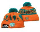 Cheap Miami Dolphins Beanies Hat 1