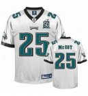Cheap Eagles #25 LeSean McCoy White Team 50TH Patch Stitched NFL Jersey