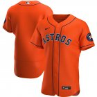 Cheap Houston Astros Men's Nike Orange Alternate 2020 Authentic Team MLB Jersey