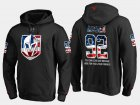 Cheap Golden Knights #92 Tomas Nosek NHL Banner Wave Usa Flag Black Hoodie