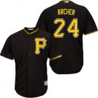 Cheap Pirates #24 Chris Archer Black New Cool Base Stitched MLB Jersey