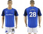 Cheap Everton #28 Dowell Home Soccer Club Jersey
