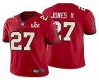 Cheap Men's Tampa Bay Buccaneers #27 Ronald Jones II Red 2021 Super Bowl LV Limited Stitched NFL Jersey