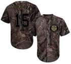 Cheap Astros #15 Carlos Beltran Camo Realtree Collection Cool Base Stitched Youth MLB Jersey