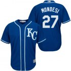 Cheap Royals #27 Raul Mondesi Blue Cool Base Stitched Youth MLB Jersey