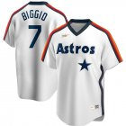 Cheap Houston Astros #7 Craig Biggio Nike Home Cooperstown Collection Logo Player MLB Jersey White