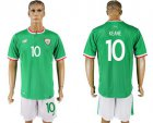 Cheap Ireland #10 Keane Green Soccer Country Jersey