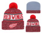 Cheap NHL DETROID RED WINGS Beanies 3