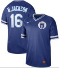 Cheap Nike Royals #16 Bo Jackson Royal Authentic Cooperstown Collection Stitched MLB Jersey