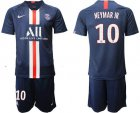 Cheap Paris Saint-Germain #10 Neymar Jr Home Soccer Club Jersey