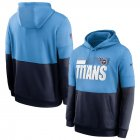 Cheap Tennessee Titans Nike Sideline Impact Lockup Performance Pullover Hoodie Light Blue Navy