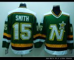 Cheap Stars #15 Bobby Smith Stitched Green CCM Throwback NHL Jersey