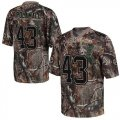 Cheap Nike Steelers #43 Troy Polamalu Camo Youth Stitched NFL Realtree Elite Jersey