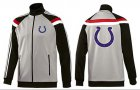 Cheap NFL Indianapolis Colts Team Logo Jacket Grey