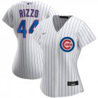 Cheap Chicago Cubs #44 Anthony Rizzo Nike Women's Home 2020 MLB Player Jersey White