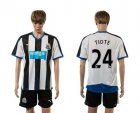 Cheap Newcastle #24 Tiote Home Soccer Club Jersey