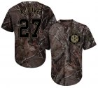 Cheap Astros #27 Jose Altuve Camo Realtree Collection Cool Base Stitched Youth MLB Jersey