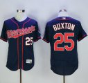 Cheap Twins #25 Byron Buxton Navy Blue Flexbase Authentic Collection Stitched Baseball Jersey