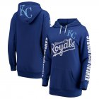 Cheap Kansas City Royals G-III 4Her by Carl Banks Women's Extra Innings Pullover Hoodie Royal