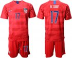 Cheap USA #17 Altidore Away Soccer Country Jersey
