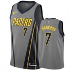 Cheap Nike Pacers #7 Malcolm Brogdon Gray City Edition Men's NBA Jersey