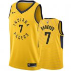 Cheap Nike Pacers #7 Malcolm Brogdon Gold NBA Swingman Statement Edition Jersey