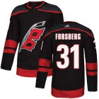 Cheap Adidas Hurricanes #27 Justin Faulk White Road Authentic Stitched NHL Jersey