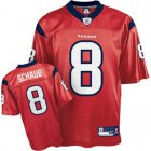 Cheap Texans #8 Matt Schaub Red Stitched NFL Jersey