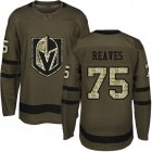 Cheap Adidas Golden Knights #75 Ryan Reaves Green Salute to Service Stitched Youth NHL Jersey