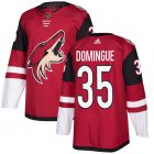 Cheap Adidas Coyotes #35 Louis Domingue Maroon Home Authentic Stitched Youth NHL Jersey