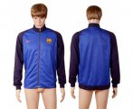 Cheap Barcelona Soccer Jackets Purple