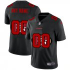Cheap San Francisco 49ers Custom Men's Nike Team Logo Dual Overlap Limited NFL Jersey Black