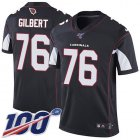 Cheap Nike Cardinals #76 Marcus Gilbert Black Alternate Youth Stitched NFL 100th Season Vapor Untouchable Limited Jersey