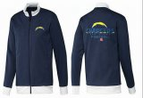 Cheap NFL Los Angeles Chargers Victory Jacket Dark Blue