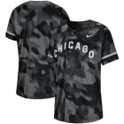 Cheap Chicago White Sox Platinum Collection Long Sleeve Tri-Blend T-Shirt Black