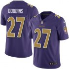Cheap Nike Ravens #27 J.K. Dobbins Purple Youth Stitched NFL Limited Rush Jersey