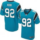 Cheap Nike Panthers #92 Zach Kerr Blue Alternate Men's Stitched NFL New Elite Jersey