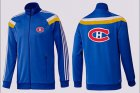 Cheap NHL Montreal Canadiens Zip Jackets Blue-3