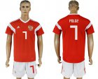 Cheap Russia #7 Poloz Home Soccer Country Jersey
