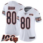 Cheap Nike Bears #80 Jimmy Graham White Women's Stitched NFL 100th Season Vapor Untouchable Limited Jersey