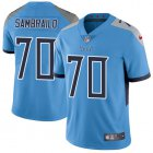 Cheap Nike Titans #70 Ty Sambrailo Light Blue Alternate Youth Stitched NFL Vapor Untouchable Limited Jersey