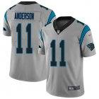 Cheap Nike Panthers #11 Robby Anderson Silver Youth Stitched NFL Limited Inverted Legend Jersey