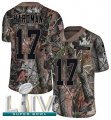 Cheap Nike Chiefs #17 Mecole Hardman Camo Super Bowl LIV 2020 Men's Stitched NFL Limited Rush Realtree Jersey
