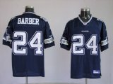 Cheap Cowboys #24 Marion Barber Blue Stitched NFL Jersey